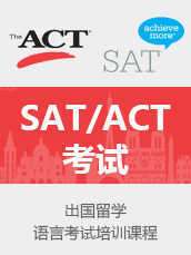 SAT/ACT 1v1课程 一对一辅导课程