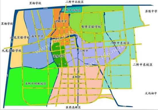泰州小升初学区房划分一览表