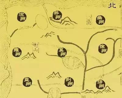黄河与长江之间的三大板块
