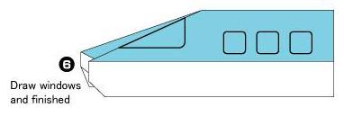 关于火车头折纸教程