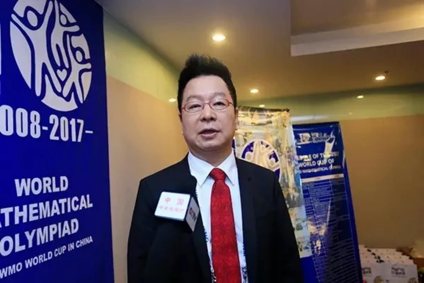 韩国数学上市公司CMS教育集团CEO 李忠国