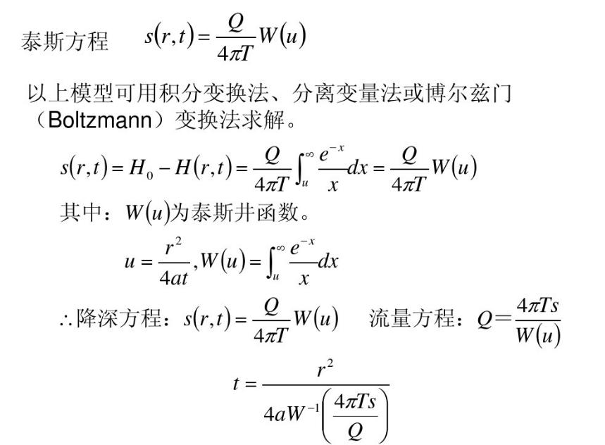 【什么是泰斯公式-图】百科知识点