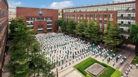 广东中学实力排行榜