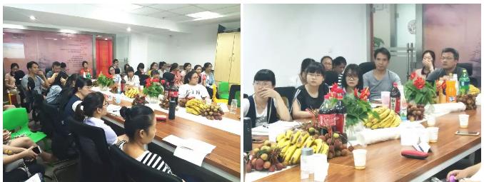 南宁分公司人事经理滕双明女士宣贯最新的教师薪酬制度