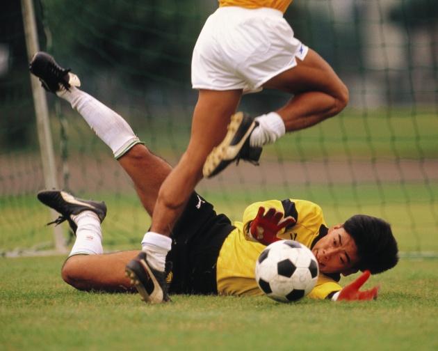 踢足球,锻炼耐力