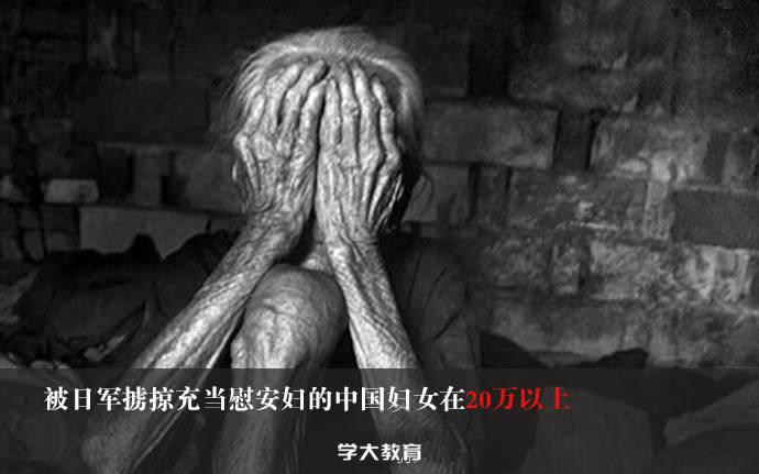 被日军掳掠充当慰安妇的中国妇女在20万以上!