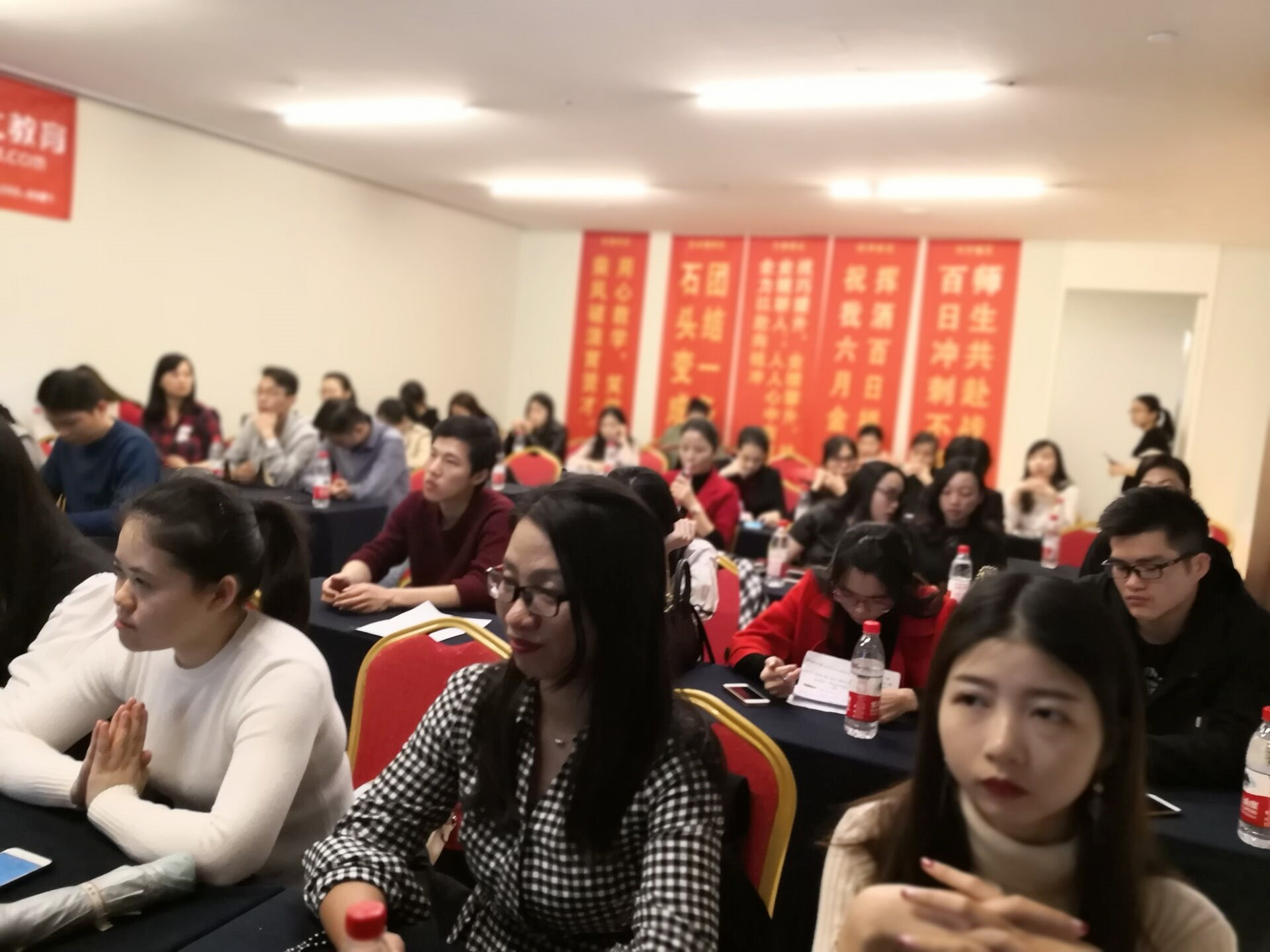 教师代表梁红英老师