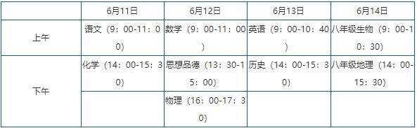 2018年青岛中考时间【6月11日-14日】